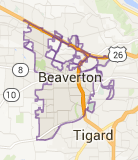 Beaverton Map