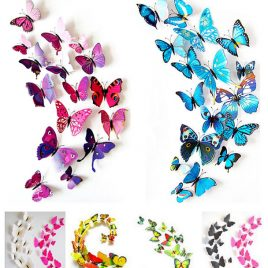 Gossip Girl 3D Butterfly Wall Stickers