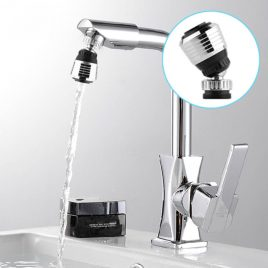 360 Rotate Swivel Water Saving Faucet Adapter