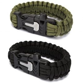 Emergency Rescue Paracord Parachute Wristbands