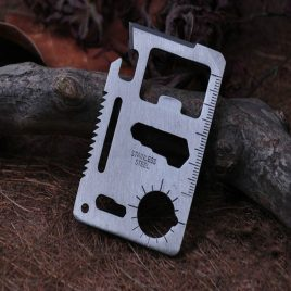 11 in 1 Multipurpose Multifunction Survival Tool