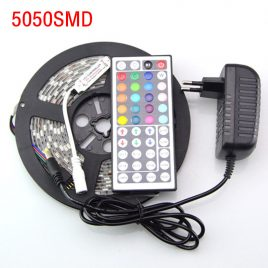 SMD  5050  Waterproof  Light  Strip   Ribbon w/  44Key  IR Remote