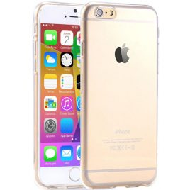 6/6s  Super  Flexible  Clear  Rubber  Phone  Gel  Case Protector