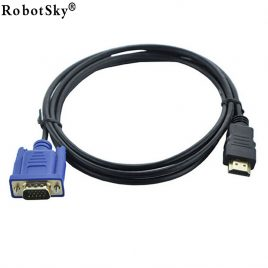 6FT 1.8M HDMI To VGA Cable Adapter