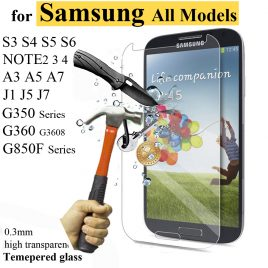 Samsung Ultra  Thin Tempered Glass Premium Screen Protector