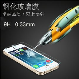 Real  Tempered  Glass  iPhone Screen  Protector